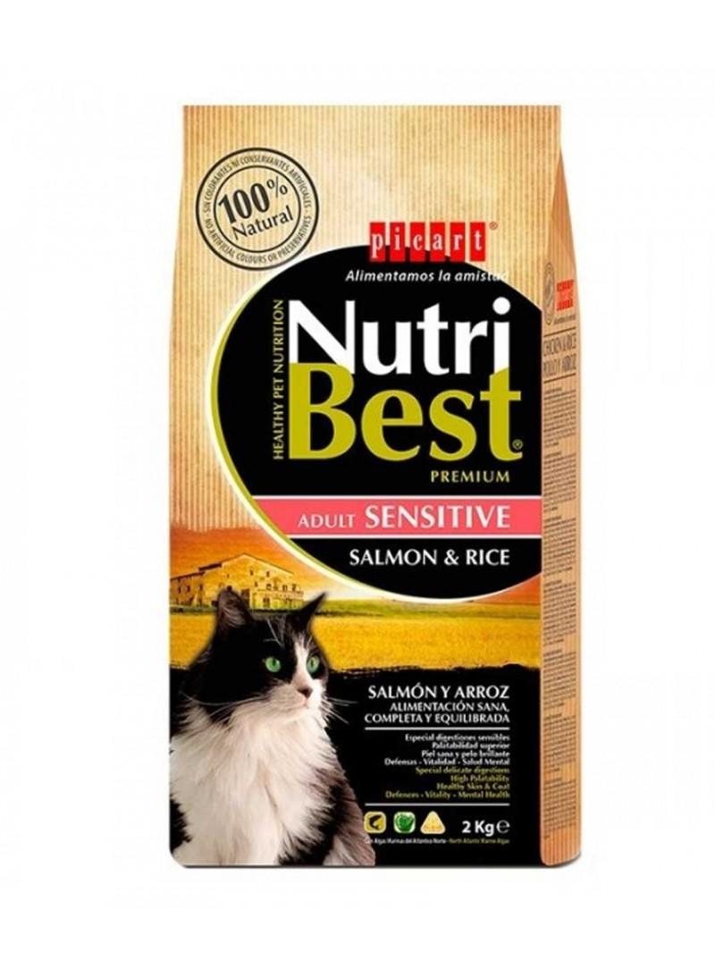 Picart Nutribest Cat Adult Sensitive Salmon-NUTGASR02