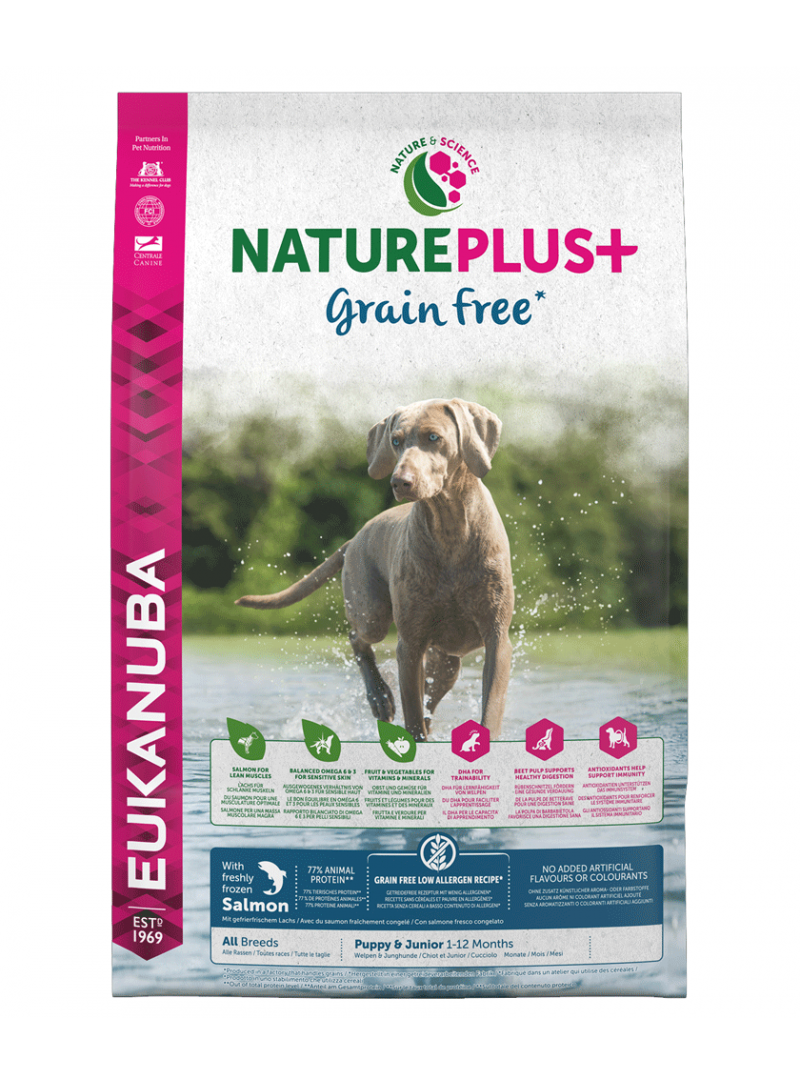 Eukanuba Nature Plus + Puppy Salmon  |  Grain Free-REUK1450520