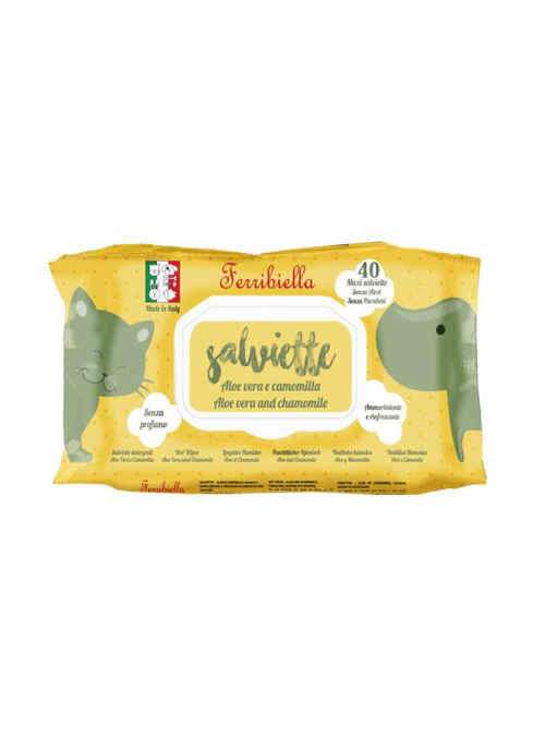 Ferribiella Toalhetes Húmidos Sensitive Bio