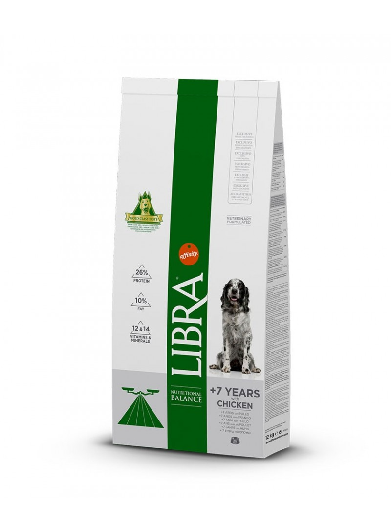 Libra Dog Senior +7-LISEN03