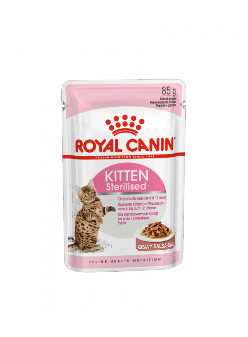 Royal Canin Kitten Sterilised - Gravy-RC1071000