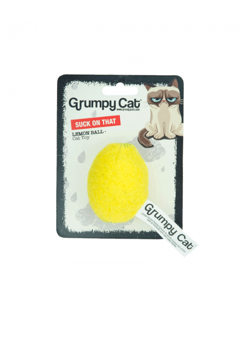 Grumpy Cat Lemon Ball-GC-001-06