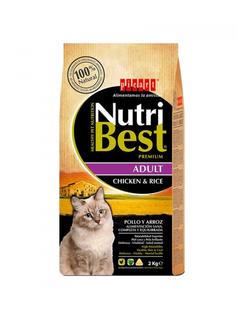 Picart Nutribest Cat Adult Chicken-NUTBGAF2