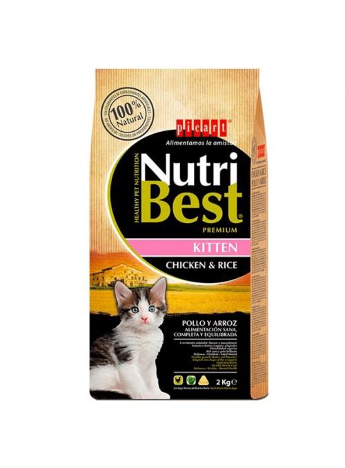 Picart Nutribest Kitten-NUTBGK2