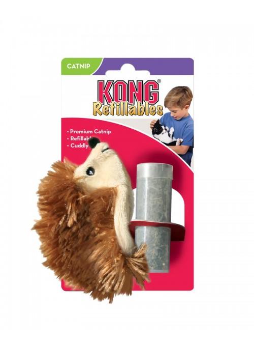 Kong Refillable Catnip Ouriço-NH42E (2)