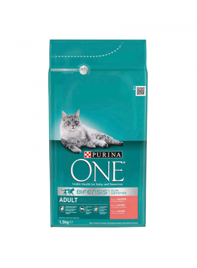 Purina One Cat Adult Salmão-P12298111