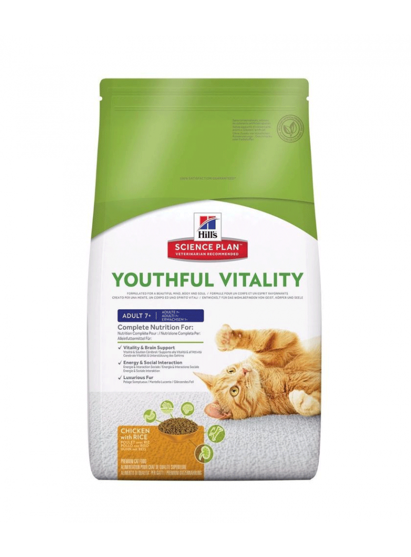 Hill's Science Plan Cat Adult 7+ Youthful Vitality Chicken-HISP7730 (3)