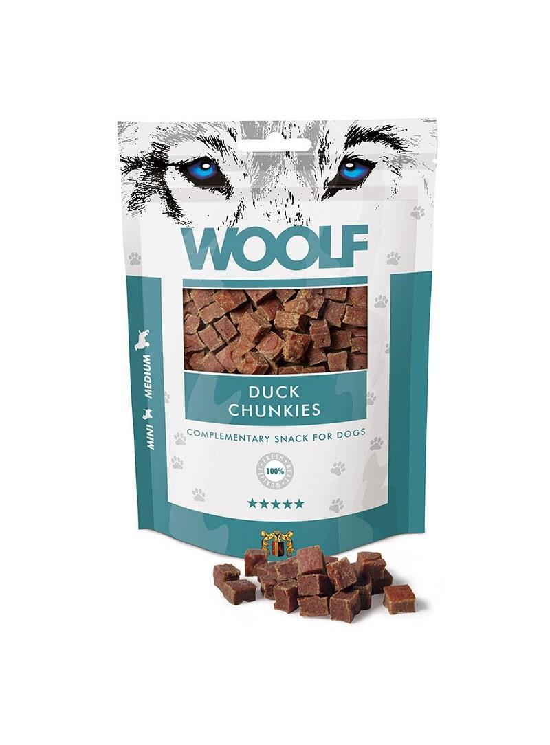 Woolf Snack Chunkies de Pato-WO1026