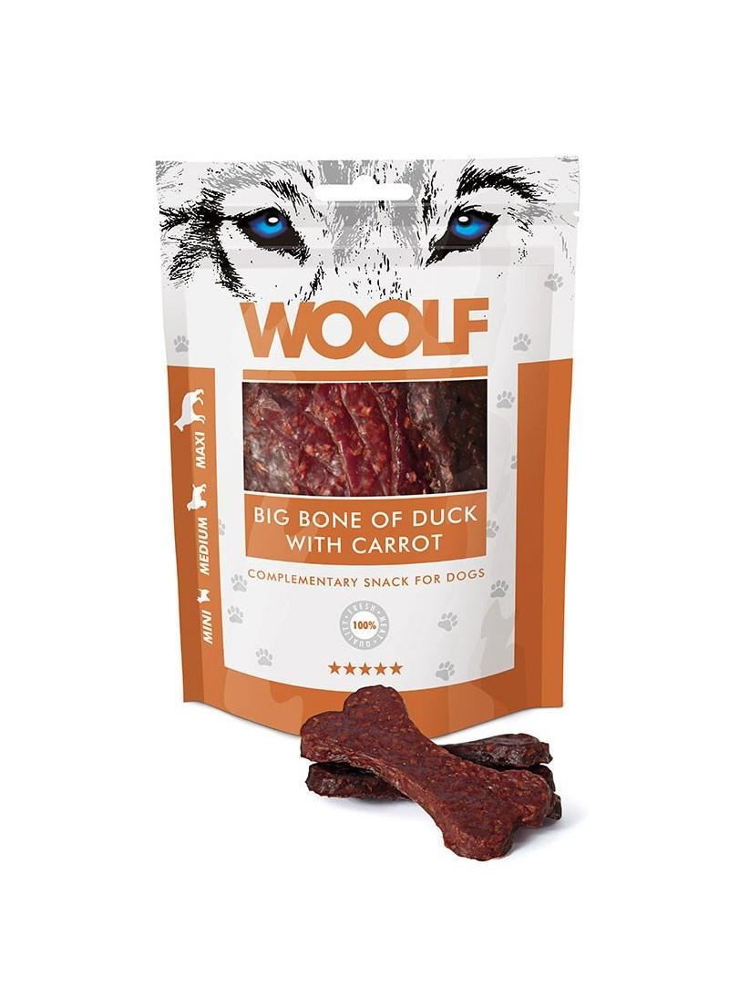 Woolf Snack Big Bone de Pato c/ Cenoura-WO1012