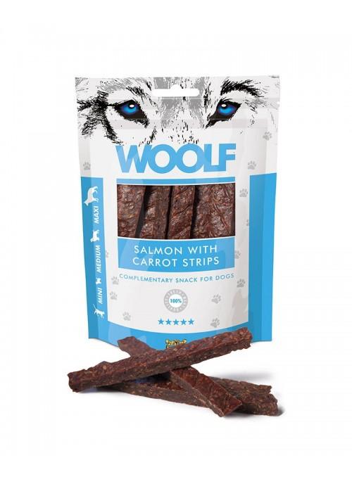 Woolf Snack Tiras de Salmão c/ Cenoura-WO1007