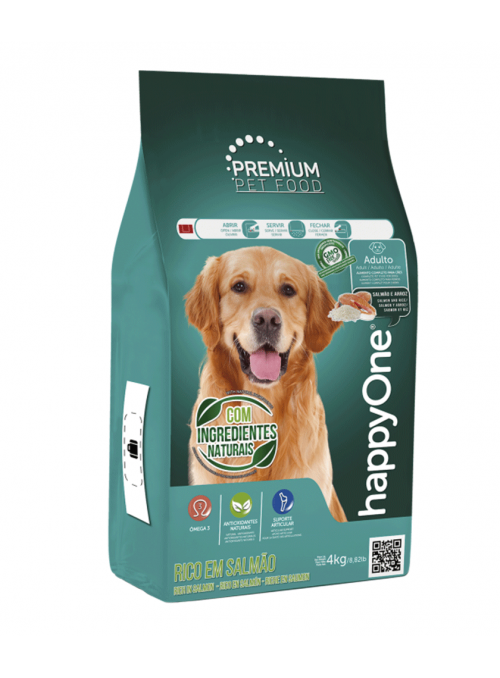 HappyOne Premium Dog Adult Salmão-HOP002-01