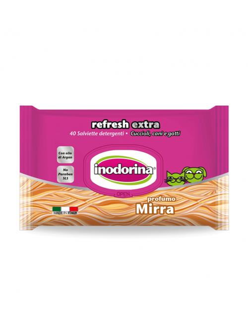 Inodorina Extra Toalhetes Mirra