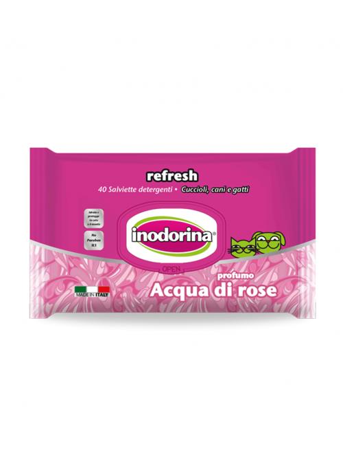 Inodorina Toalhetes Água de Rosas