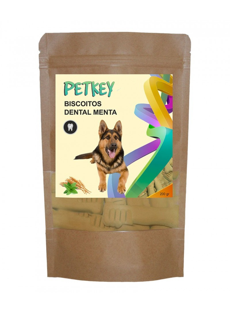 PetKey Dog Biscoitos Dental Menta-701030