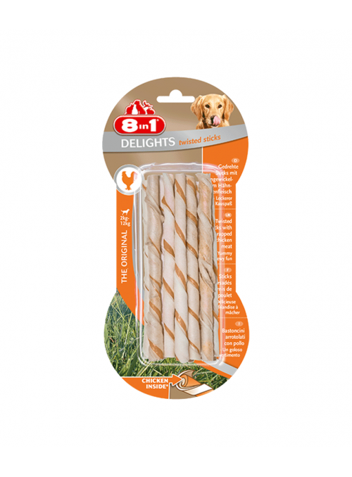 8in1 Delights Chicken Twisted Sticks-1460005