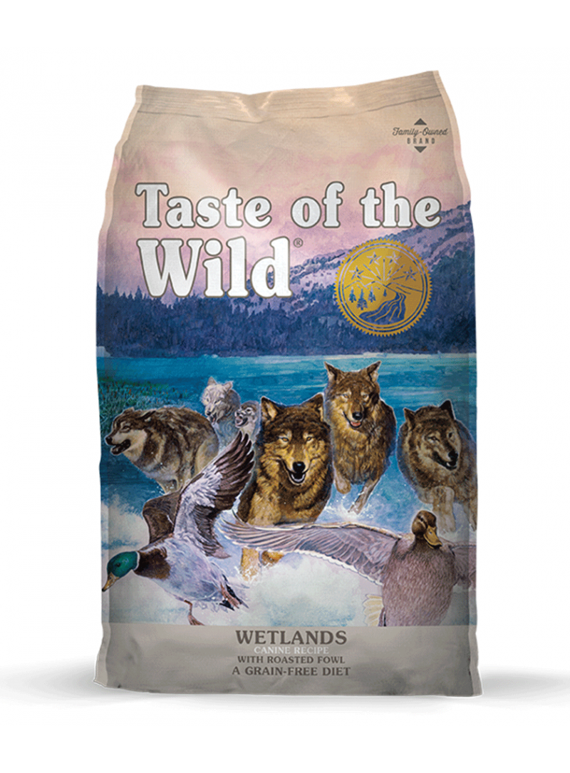 Taste Of The Wild Dog Wetlands Fowl-TW1177000