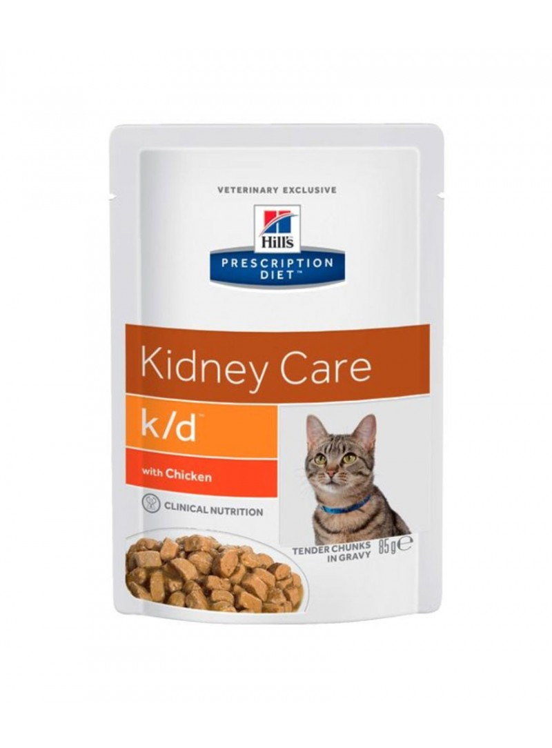 Hill's Cat  K/D Kidney Care Chicken  |  Saqueta-FKDP