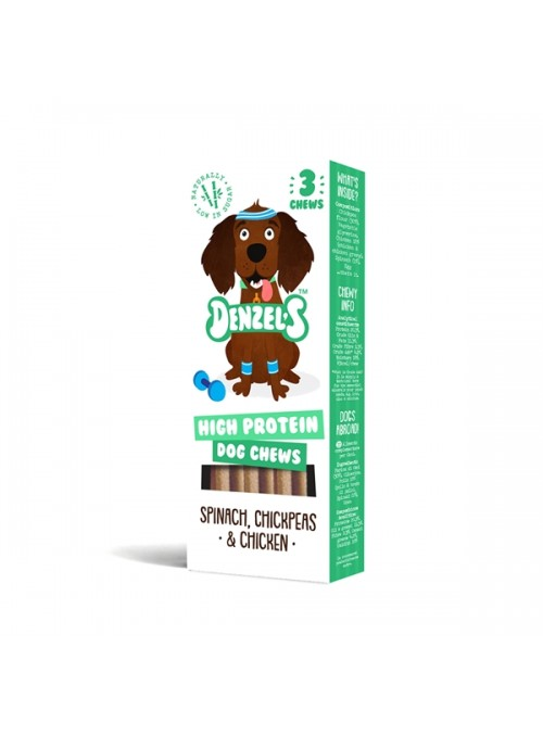 DENZELS DOG SNACK HIGH PROTEIN - 55gr - DCHEWSHIG