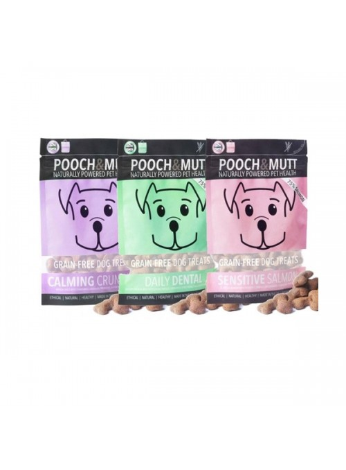 POOCH & MUTT SNACKS GRAIN FREE - Sensitive Salmon - 80gr - GF-SALMON