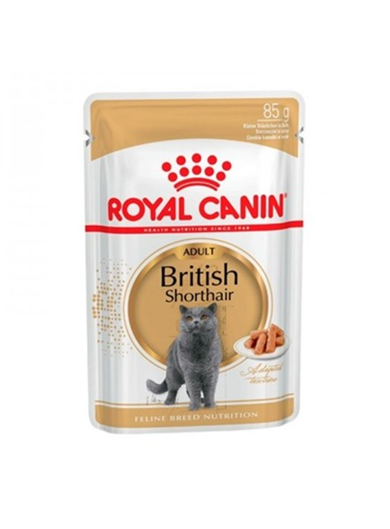 ROYAL CANIN BRITISH SHORTHAIR | SAQUETA - 85gr - RCBRSHO85