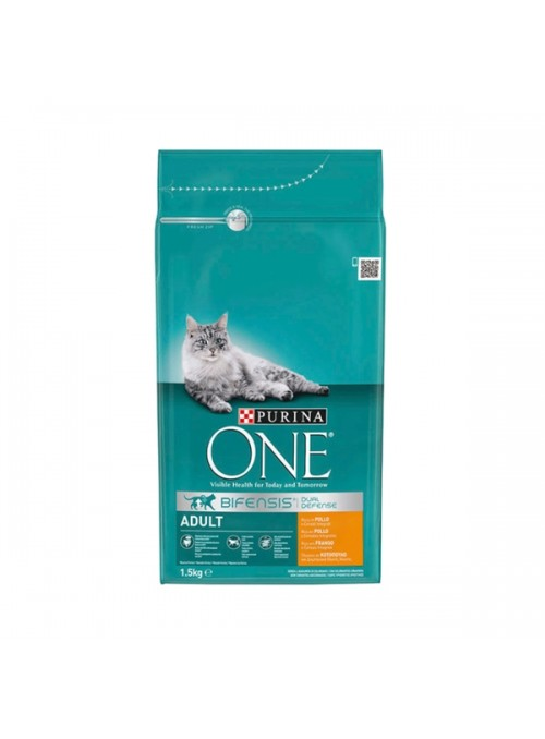 PURINA ONE CAT ADULT FRANGO - 1,5kg - P12298019