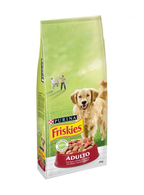 FRISKIES CÃO ADULTO VACA E...