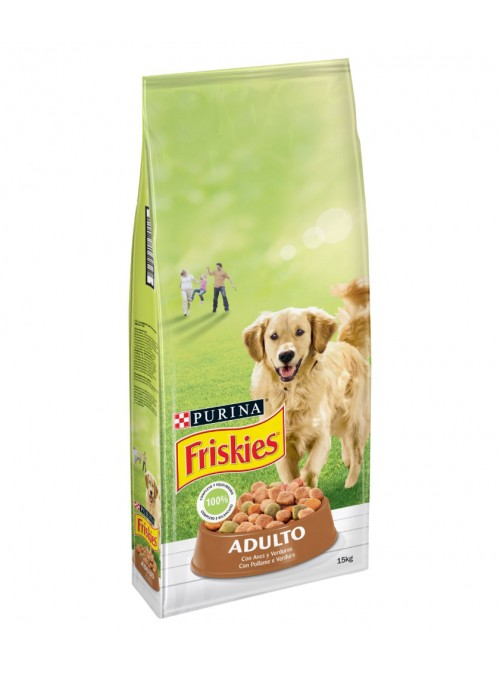FRISKIES CÃO ADULTO AVES E...