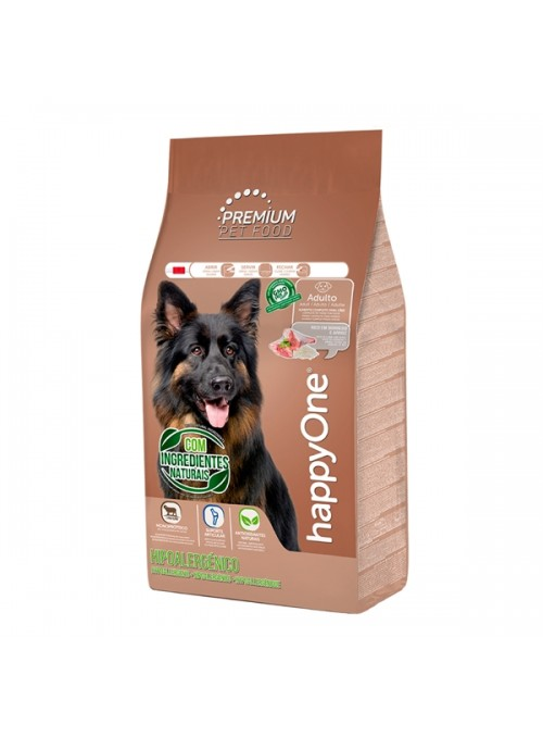 HAPPYONE PREMIUM DOG ADULT HIPOALERGÉNICO - 15kg - HOP006-02