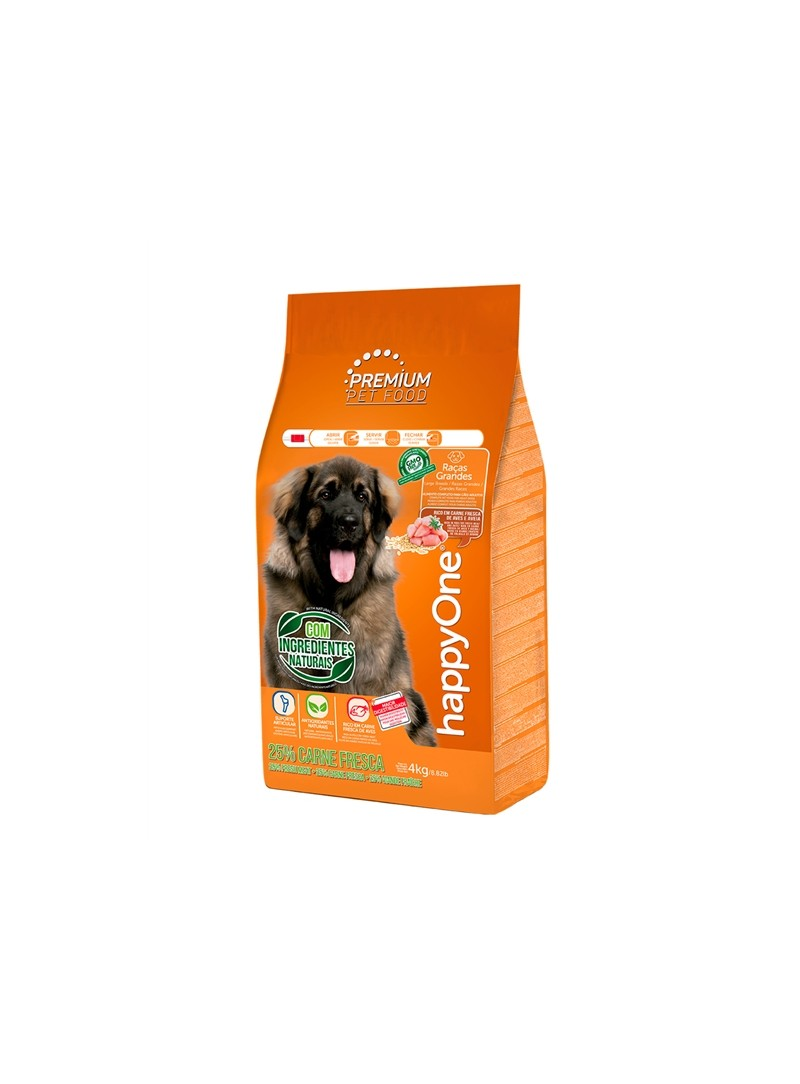 HAPPYONE PREMIUM DOG ADULT RAÇAS GRANDES - 15kg - HOP008-02