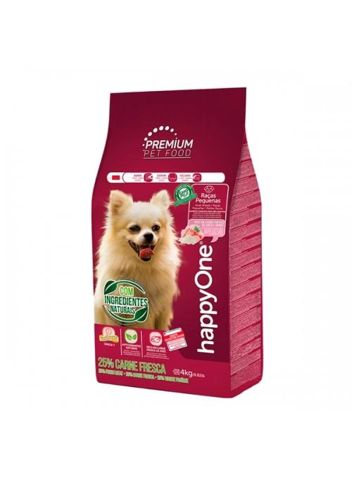 HAPPYONE PREMIUM DOG ADULT RAÇAS PEQUENAS - 10kg - HOP007-02