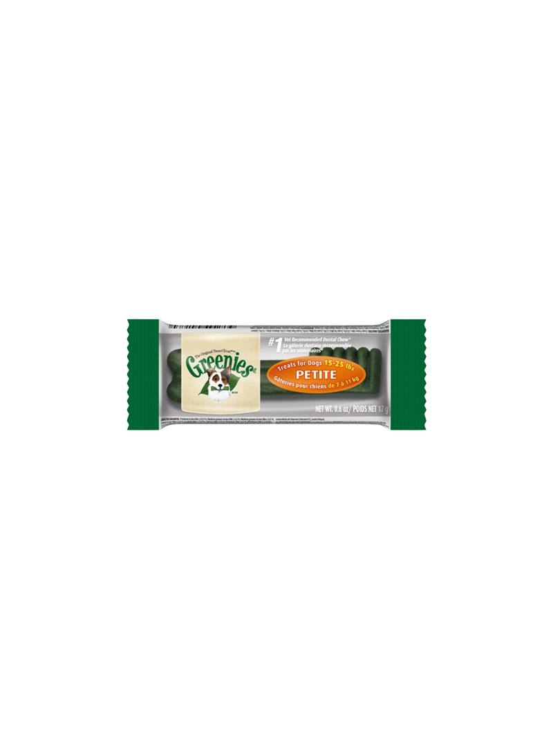 GREENIES DOG TREATS PETITE - INDIVIDUAL - 1 unidade - G10111968