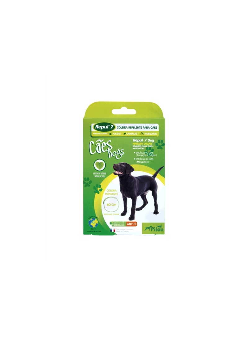PILOU REPUL 7 DOG COLEIRA REPELENTE - R163584