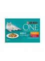PURINA ONE CAT ADULT - HÚMIDO - 4 x 85gr - P12368322
