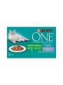 PURINA ONE CAT INDOOR - HÚMIDO - 4 x 85gr - P12368845