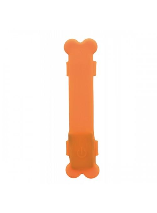 TRIXIE FLASHER - BANDA LUMINOSA USB - Laranja - TX13084