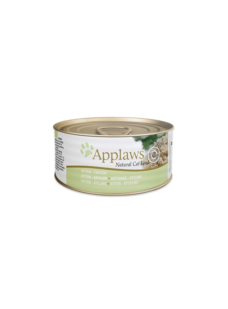 APPLAWS KITTEN - LATA - Peito de Frango - 70gr - A1001