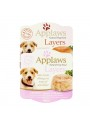 APPLAWS DOG ADULT POT LAYERS - HÚMIDO - Vaca e Cenoura - 100gr - A7205