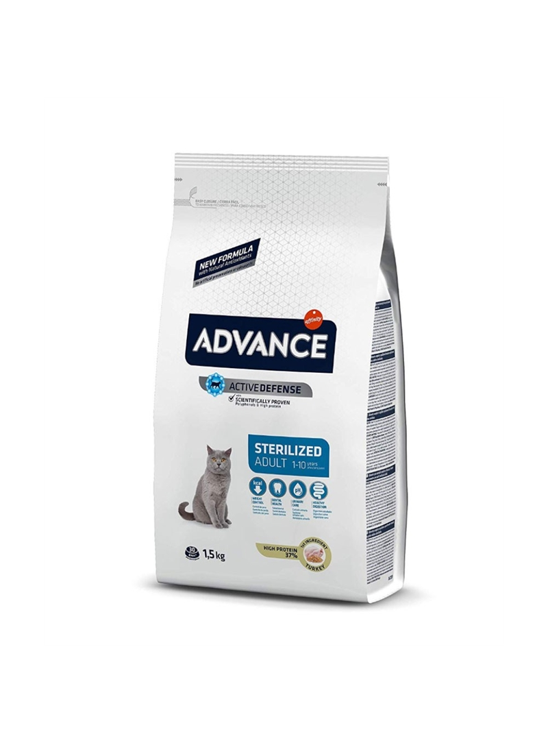 ADVANCE CAT ADULT STERILISED TURKEY - 400gr - AD922228