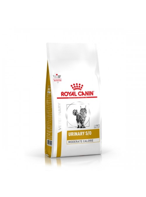 ROYAL CANIN URINARY S/O MODERATE CALORIE CAT - 1,5kg - RCURMC15