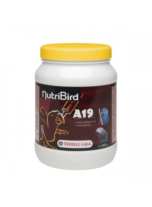 VERSELE LAGA - NUTRIBIRD A19 P/ PASSAROS BEBÉS - 800gr - NA422012