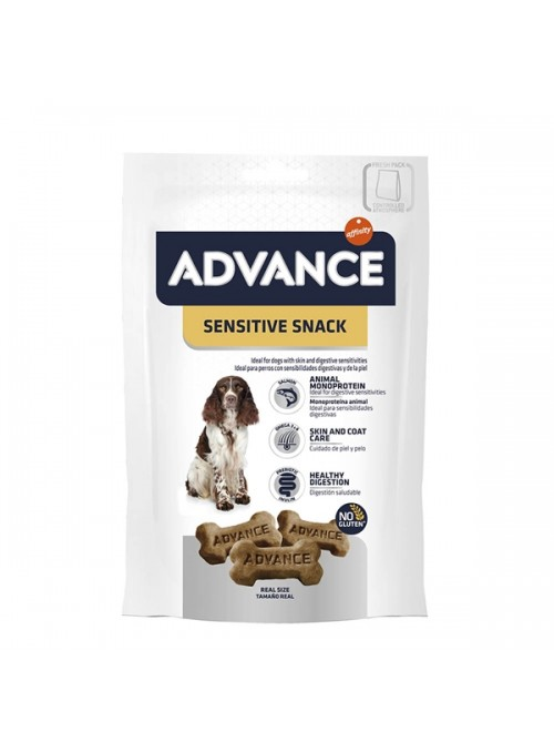 ADVANCE SENSITIVE SNACK - 150gr - ADVSS150