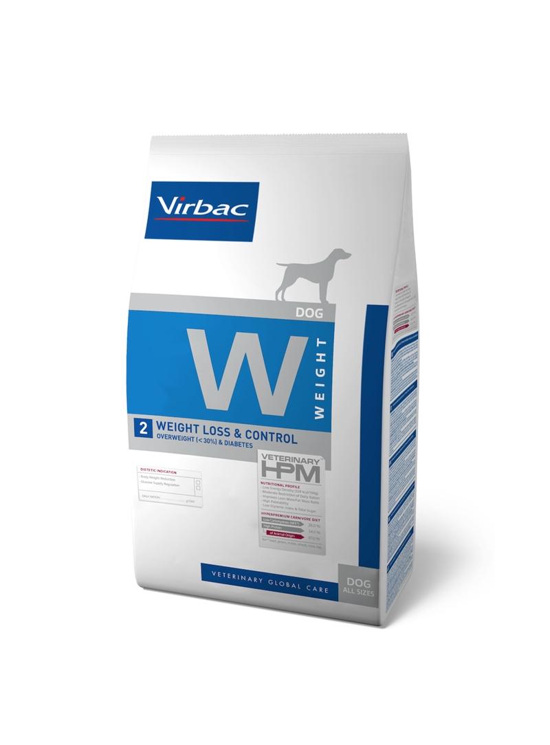 VIRBAC DOG W2 - WEIGHT LOSS & CONTROL - 3kg - RACDW23K