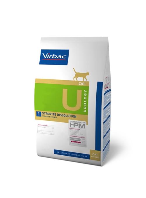 VIRBAC CAT U1 - STRUVITE DISSOLUTION - 3kg - RACCU13K
