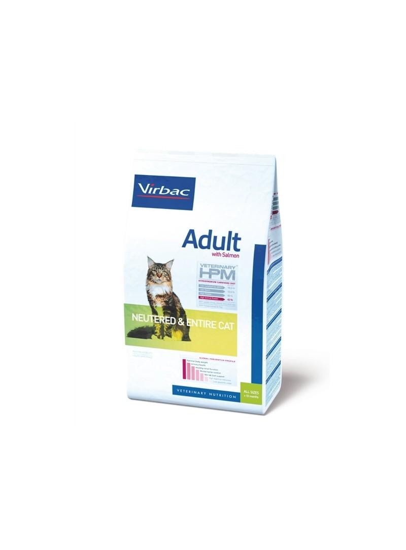 VIRBAC CAT ADULT NEUTERED & ENTIRE SALMON - 7kg - RACCNES7K