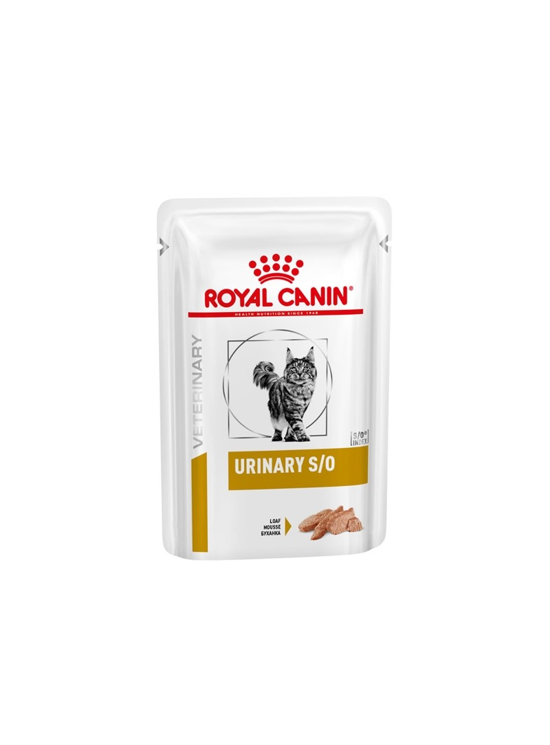 ROYAL CANIN CAT URINARY S/O - LOAF - 85gr - RC1254000
