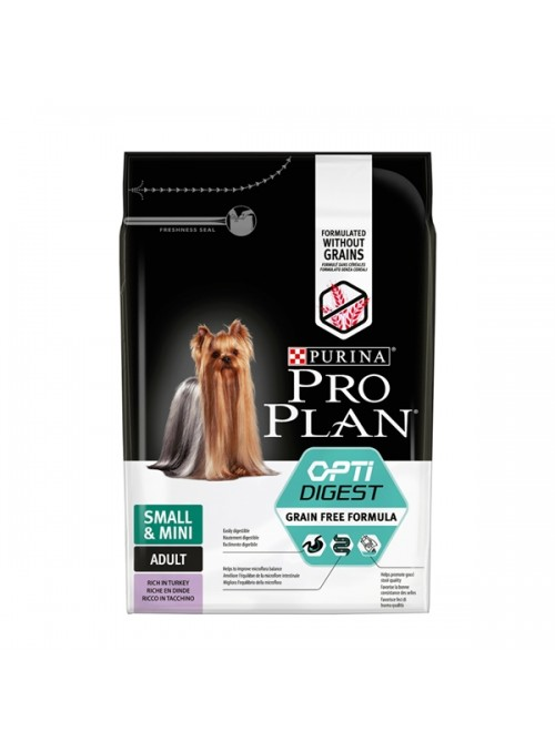 PRO PLAN SMALL & MINI ADULT SENSITIVE DIGESTION PERÚ - GRAIN FREE - 2,5kg - PP12384751