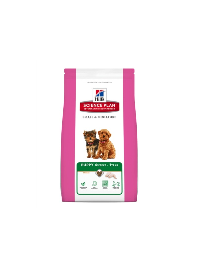 HILL S SCIENCE PLAN DOG PUP SMALL & MINIATURE CHICKEN - 3kg - HSM1040