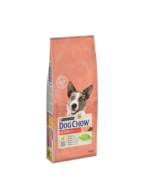 DOG CHOW ACTIVE FRANGO - 14kg - CDA33154