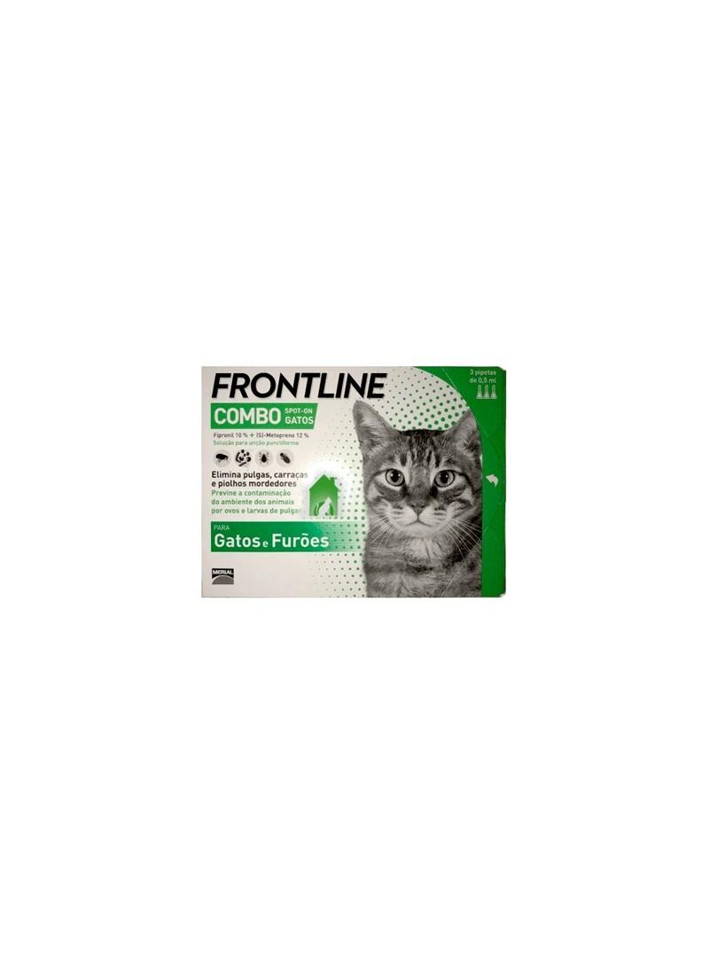 FRONTLINE COMBO GATOS 3 PIP - FLCGP3