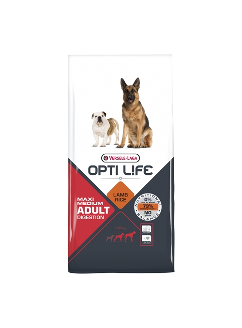 OPTILIFE MAXI MEDIUM ADULT DIGESTION - 12,5kg - OL431133